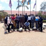 Nigerian(Jos Diocese) team being welcomed at Mbarara junior school. We thank the Lord for the partnership