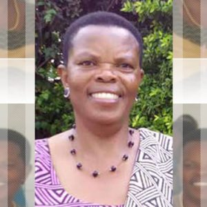Mrs. Harriet Aligonza Natukunda, Diocesan Treasurer
