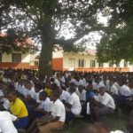Students of Bigyera Secondary school in Ibanda Archdeaconry