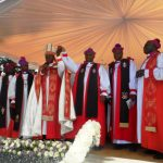 Consecration of Northwest Ankole Diocese-Ibanda - amos being announced