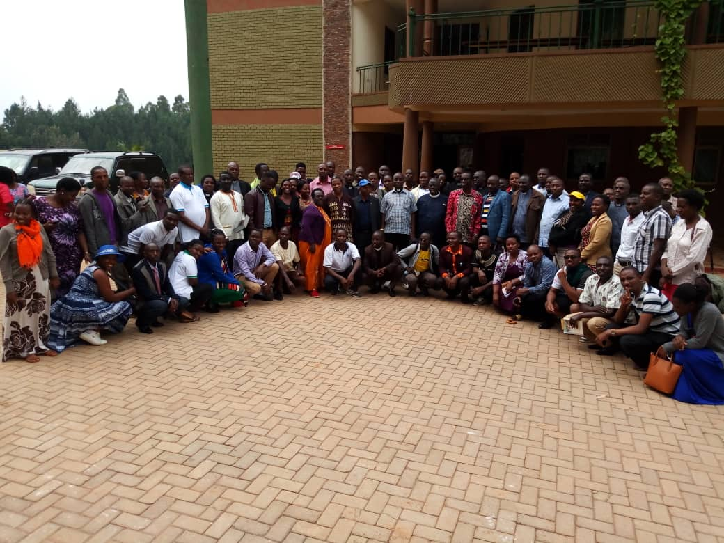 End of Year Fellowship Representatives of Ankole Diocese