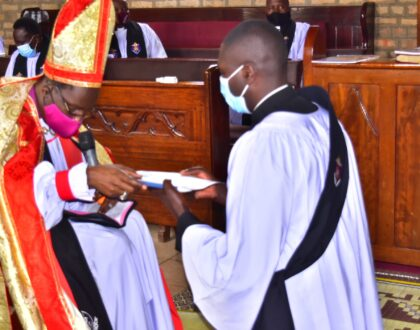 Ordination Service held on 30th November 2020 by Rt.Rev.Dr.Fred Sheldon Mwesigwa